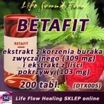 BETAFIT ekstrakt z korzenia buraka zwyczajnego i liści pokrzywy